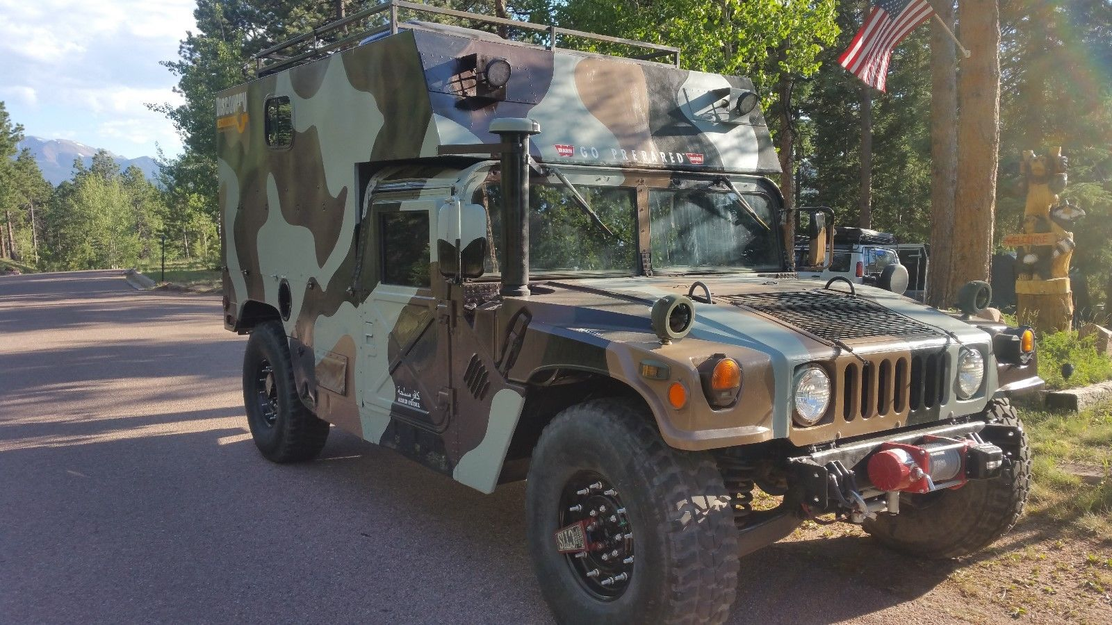 I'll Have What's In The Box: 1987 AM General HMMWV Command Shelter Camper