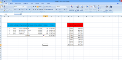 rumus vlookup di Microsoft Excel 2013