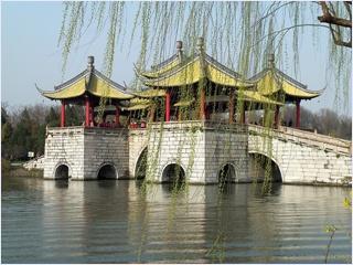 สะพานห้าศาลา (Five Pavilion Bridge)