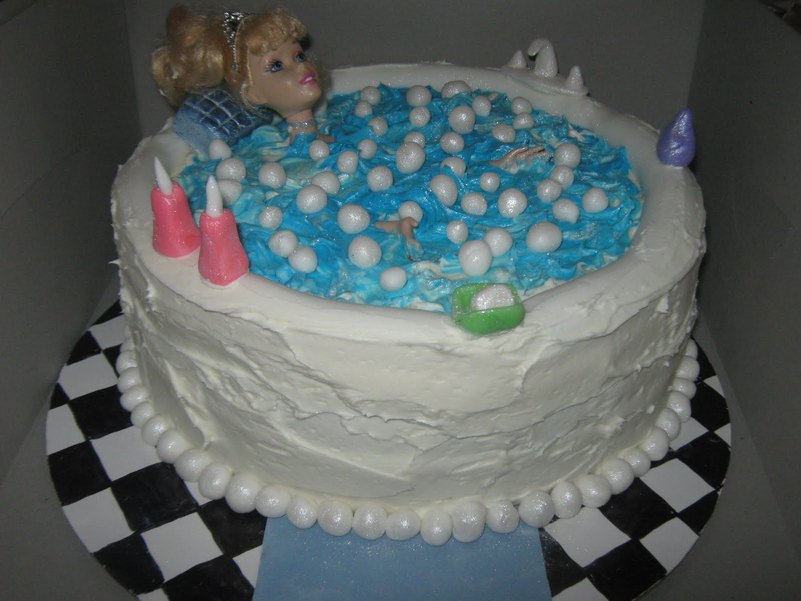 Spa Birthday Party Cake Ideas 57701 Pin Spa Birthday Party
