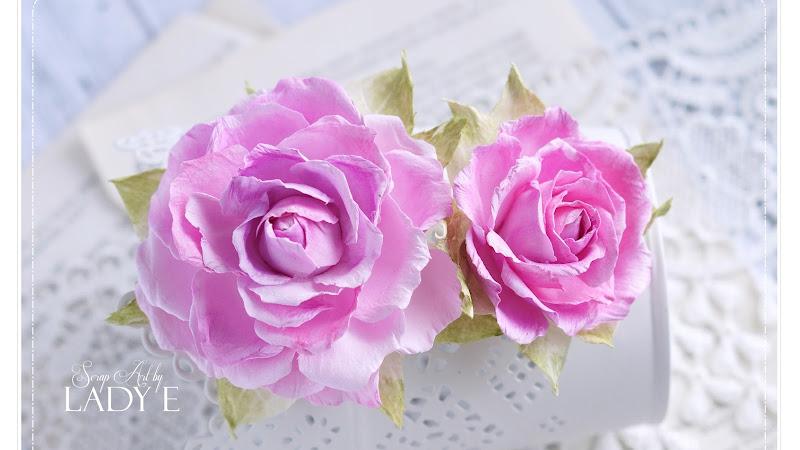 More Foamiran Roses
