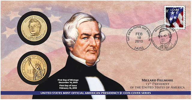 Millard Fillmore, President of the United States 2010 One Dollar Coin Cover