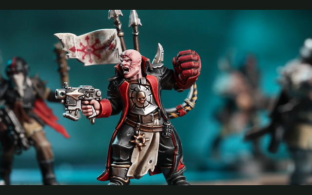 Blackstone Fortress Traitor Commissar