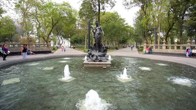 Alameda central Ciudad México