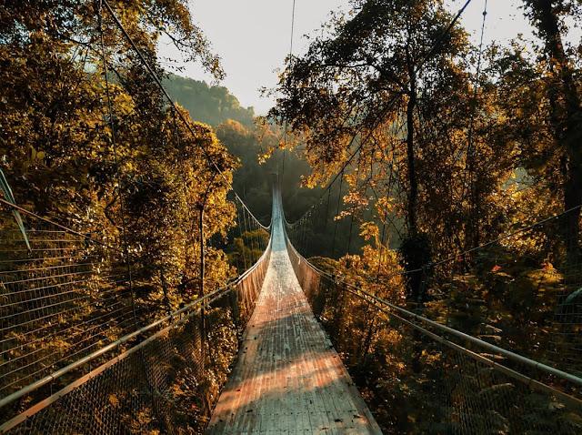 Tiket Masuk Jembatan Gantung Situ Gunung