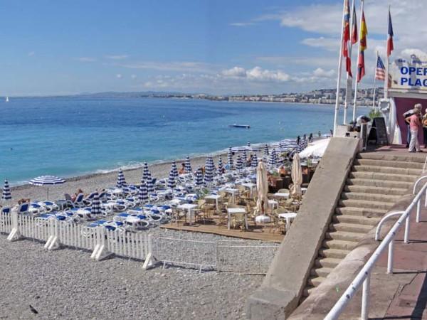 Praia Opera Plage em Nice