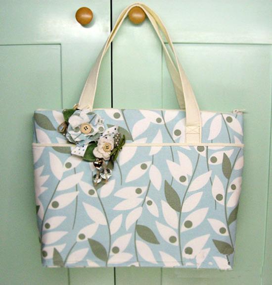 Simply Tote Bag Tutorial