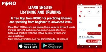 تنزيل Learn English - Listening and Speaking  برنامج تعلم اللغة الإنجليزية السريع والمهني لنظام الاندرويد