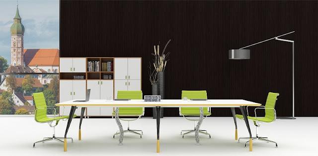 Sử dụng ghế phòng họp nhập khẩu khiến phòng họp trở nên ấn tượng hơn, đẳng cấp hơn