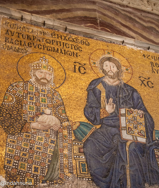 more Jesus mosaics at Hagia Sophia, Istanbul, Turkey