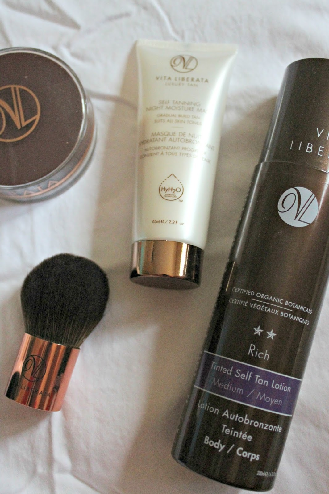 vita liberata rich tinted self tan lotion