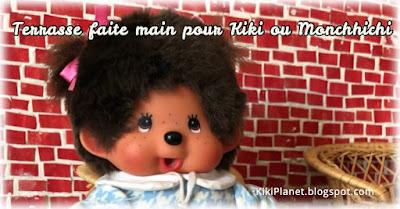 kiki monchhichi miniature handmade maison de poupée doll house fait main