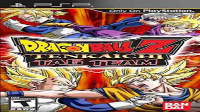 Download Game Dragon Ball Z: Tenkaichi Tag Team ISO (PSP)