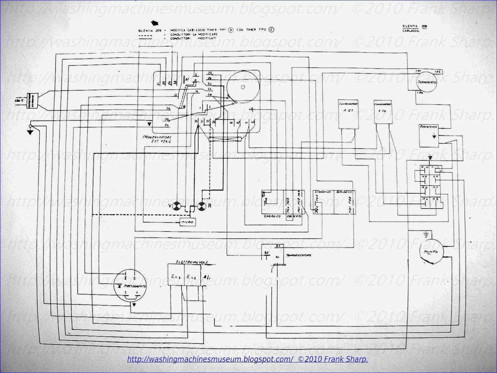 Ariston Washing Machine Wiring Diagram Simple Guide About And Schematics Washer Rama Museum Silentia 209 Timer Mtc Sl21 Schematic Rh Washingmachinesmuseum Blogspot Com Hotpoint Circuit