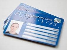 Tarjeta europea de discapacidad