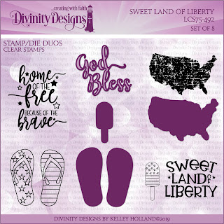 Stamp/Die Duos: Sweet Land of Liberty