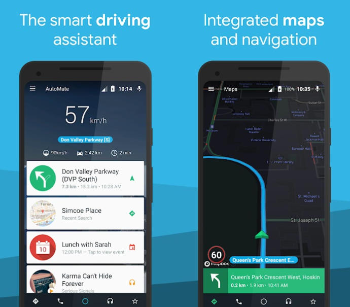 AutoMate App - Car Dashboard : Driving & Navigation