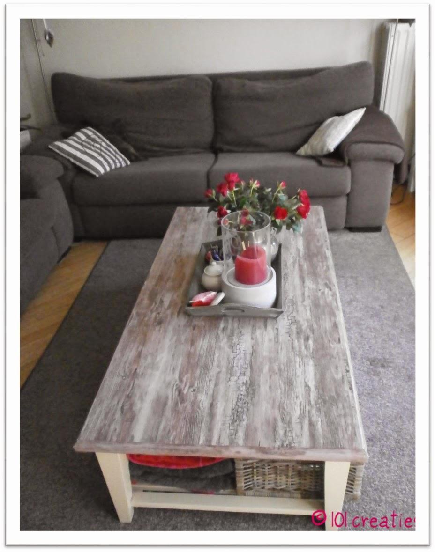Nieuwe Salon Tafel.Pimpen Nieuwe Salontafel 101 Creaties