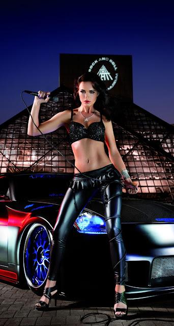 Car & Girls iPhone 6 Plus Wallpapers Free Download