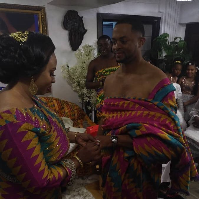 Photos from Member of Parliament, Adwoa Safo's wedding