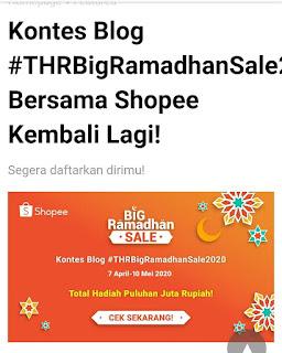 Kontes Blog Bersama Shopee