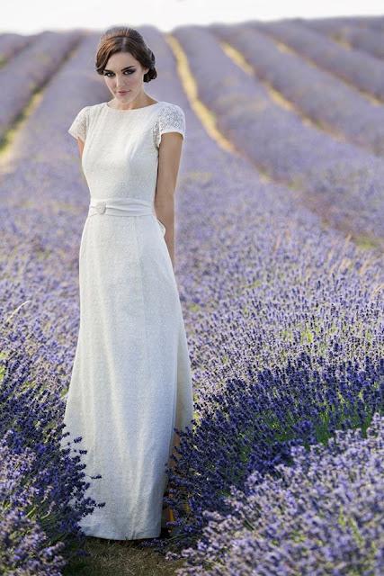 vestidos de novia sencillos para boda campestre
