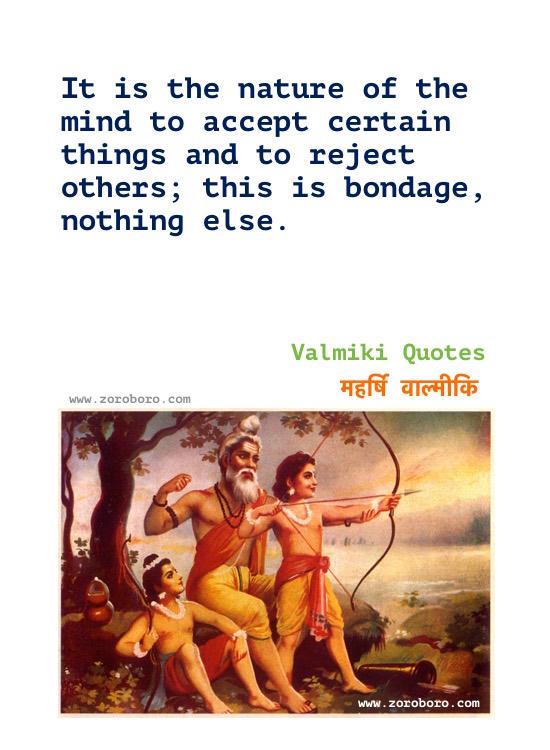 Maharishi Valmiki Quotes in Hindi, Valmiki Quotes, Maharishi Valmiki Teachings in Hindi, Valmiki Ramayana Hindi Quotes, Valmiki Jayanti