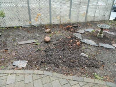 Toronto Summerhill New Front Shade Garden Makeover Before by Paul Jung--a Toronto Organic Gardener