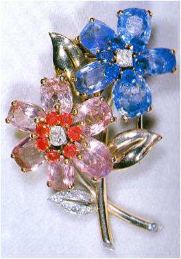 from her majestys jewel vault the sapphire and ruby