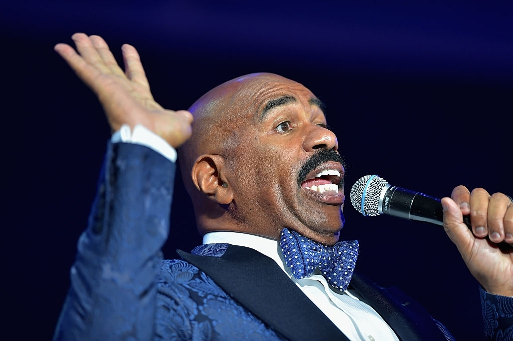 Steve Harvey Tells An Awesome Story About Breaking Into Hollywood When He Was Still Homeless