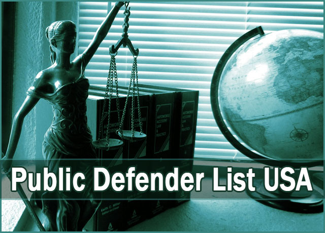 Public Defender Attorney List USA – Law Firms – Federal State