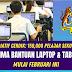 Bantuan Komputer Riba Untuk Pelajar B40, Inisiatif CERDIK Dilancar Februari Ini