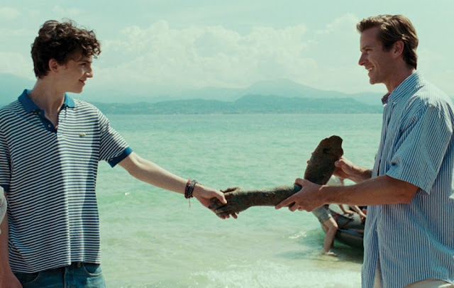 Projected Film - Call Me By Your Name Review