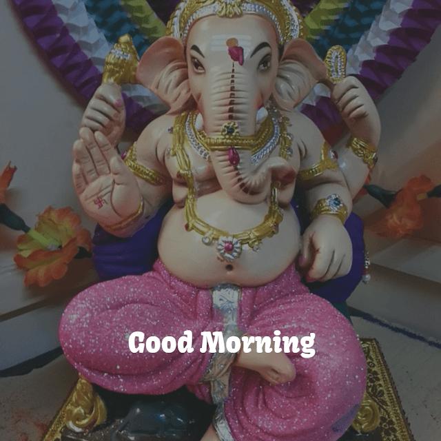 ganpati good morning pic