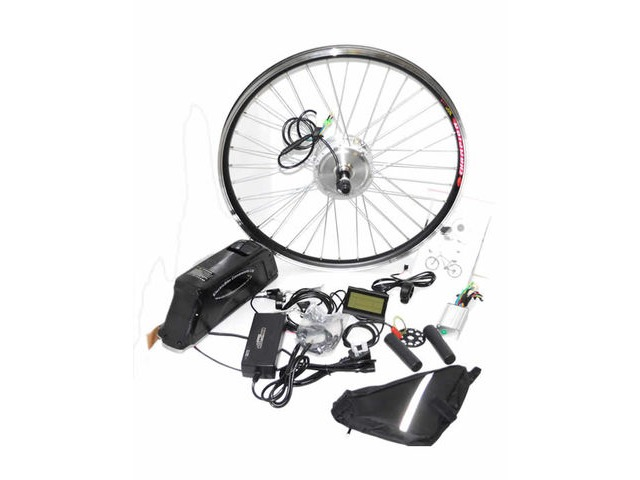 250w Front Wheel Electric Bike Conversion Kit Including Battery