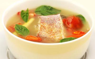 Kuliner khas buton ikan parende