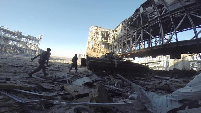 Οι Μάχες για το Αεροδρόμιο του Ντονέτσκ, 26 Μαΐου 2014 – 21 Ιανουαρίου 2015