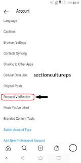 Cara Membuat Centang Biru (Verified Account) Di Akun Instagram