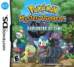 Rom Pokemon Mystery Dungeon Explorers of Time NDS