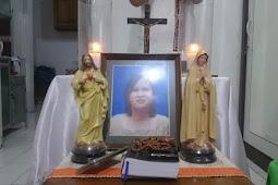 Ibadat Arwah 7 Hari Ibu Elisabeth Dini Endriyani, Umat Lingkungan SantoPetrus 4