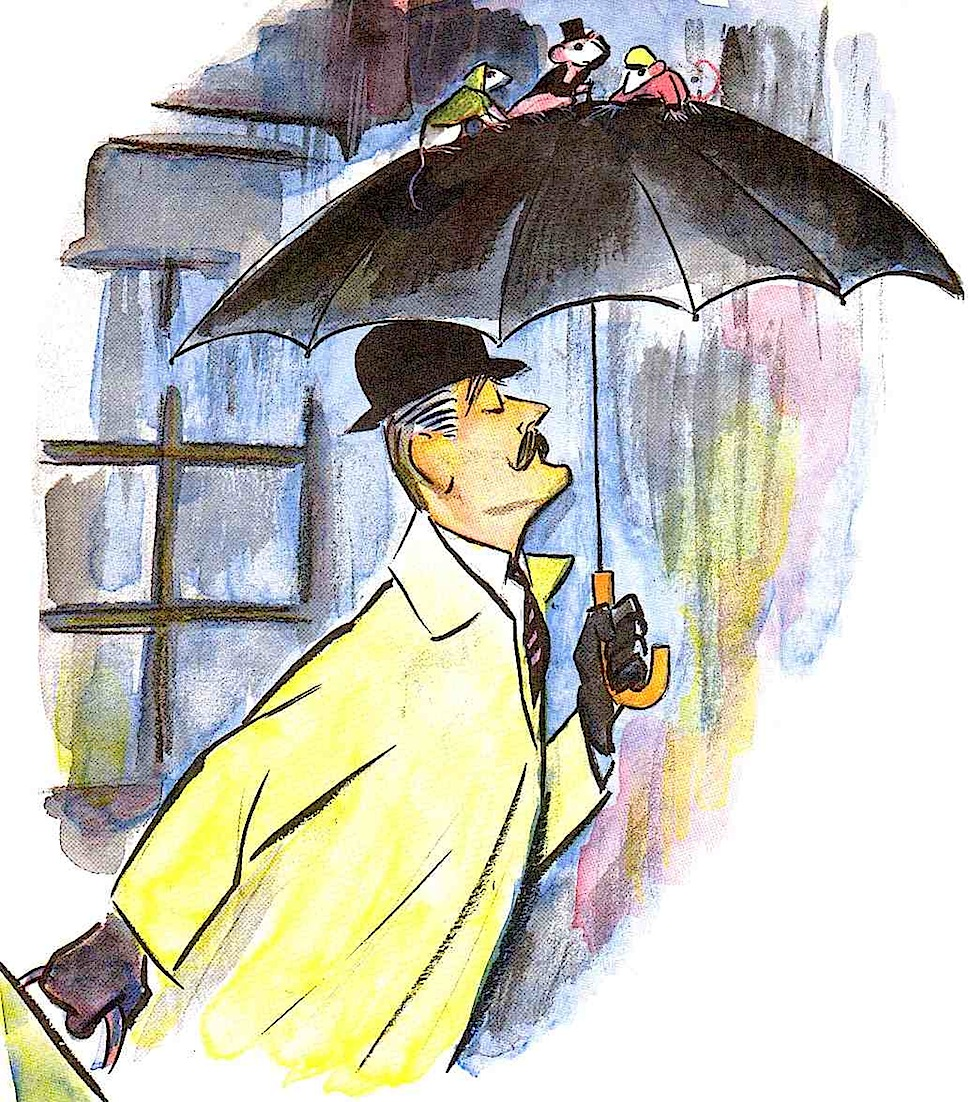 a Don Freeman children's book illustration, 1967