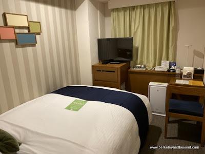 guest room in Shinjuku Washington Hotel in Tokyo, Japan