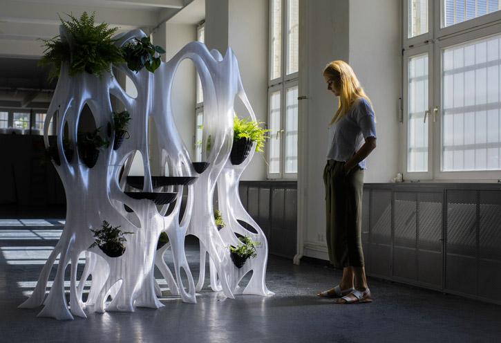 BANYAN ECO WALL - a primeira parede verde irrigada impressa em 3D
