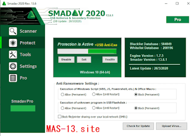 Download Smadav Pro Rev 13.6 Final Terbaru Full Keygen Serial Number Crack Gratis