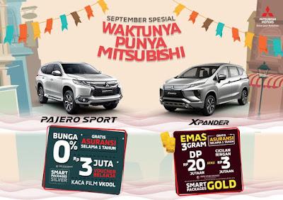 Program Promo Penjualan Mitsubishi Motors Pekanbaru Riau September 2019