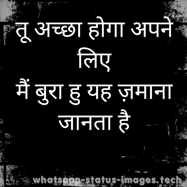 Attitude Status in Hindi 2 Line