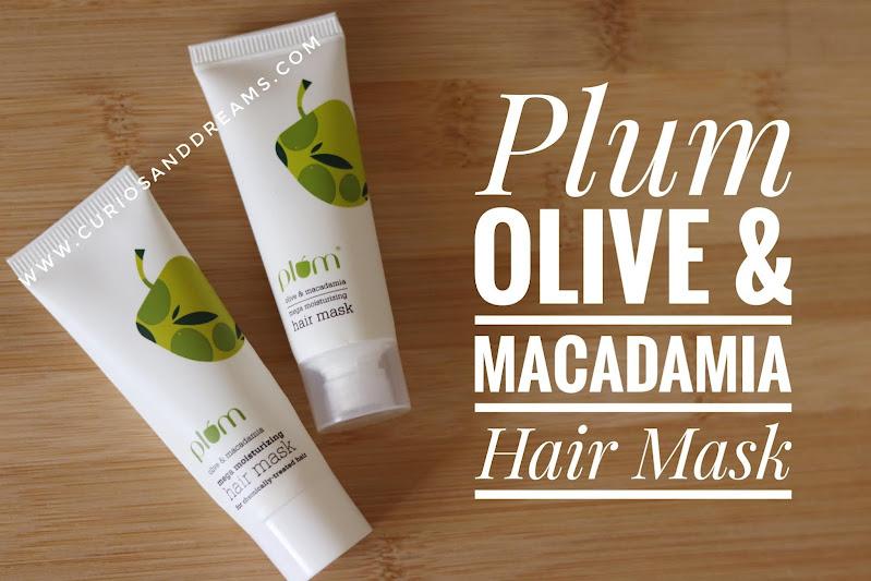 Plum Olive & Macadamia Mega Moisturizing Hair Mask, Plum Olive & Macadamia Mega Moisturizing Hair Mask review, Plum hair mask, Plum hair mask review, Plum olive hair mask