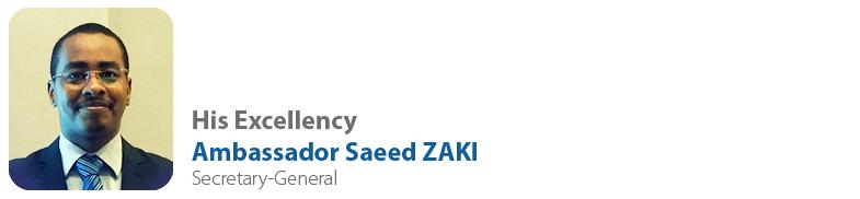 H.E. Saeed ZAKI, Secretary-General