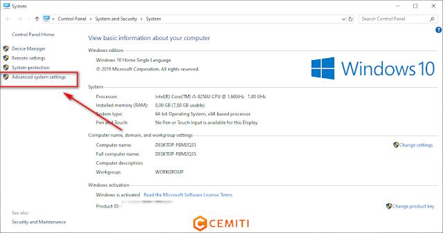Mengubah Lokasi Folder Temporary File di Windows