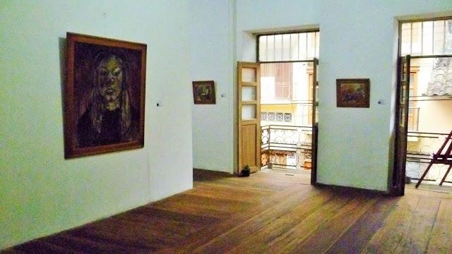 First room gallery space La Guardana de la Hora Zero Loja Ecuador